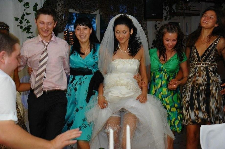 Аппетитные засветы невест